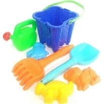 7 Piece Square Castle Bucket Set