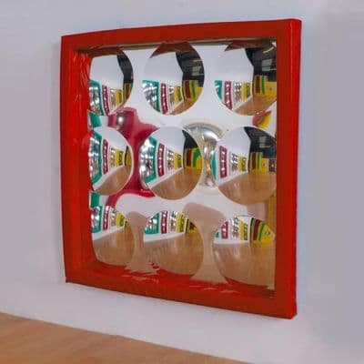 9 Bubble Soft Frame Bubble Mirror Red,Soft Frame Bubble Mirror,Sensory Bubble Mirror,Soft Frame 9 Bubble Mirror,bubble mirror,bubble mirror,sensory mirrors