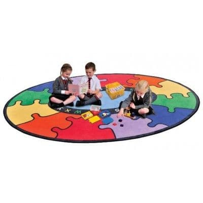 ABC Rainbow Jigsaw Carpet,Primary School Classroom Resources sells bright, stimulating and colourful teaching and learning resources for children from EYFS to lower KS3