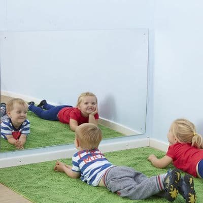 Acrylic Large Safety Mirror,sensory wall mirror,childrens safety mirror,childrens mirror,early years mirror