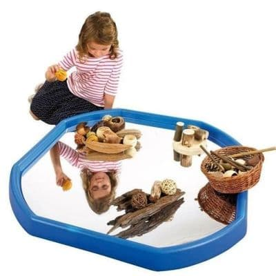 Active World Removable Mirror Mat,tuff tray,mirror mat,early years resources, educational resources, educational materials, childrens learning resources, childrens learning materials, teaching resources for children, teaching material for children