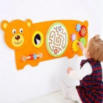 Activity Wall Panel Bear