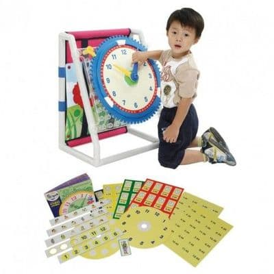 All In One Learning Disc Set,Learn the time,classroom learning resources,classroom resources,school resources special needs