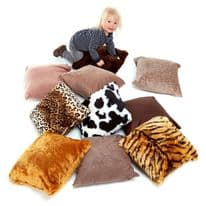 Animal Tactile Cushion Pack of 10