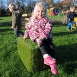 Artificial Grass Seats Pack of Four