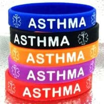 Asthma Asthmatic Medical Alert Bracelet