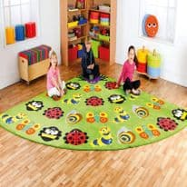 Back to Nature™ Large Corner Bugs Carpet