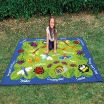 Back To Nature Minibeasts Outdoor Mat