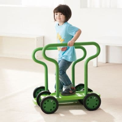 Balance Twin Walker with Handles,weplay twin walker,weplay uk,balance games,children's balancing walker,children's physical education equipment,special needs equipment