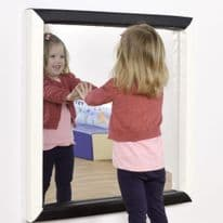 Black and White Flat Mirror