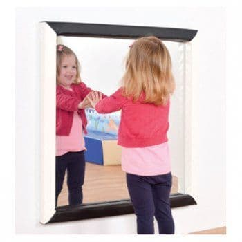 black and white flat mirror,early years resources, educational resources, educational materials, childrens learning resources, childrens learing materials, teaching resources for children, teaching material for children
