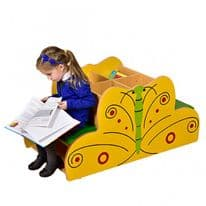 Butterfly Book Storage with Seat