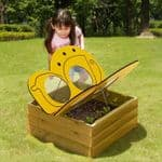 Butterfly Flower Bed Planter
