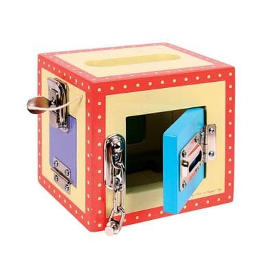Carry Lock Box,Sensory lock box,special needs locks box,Bigjigs lock box