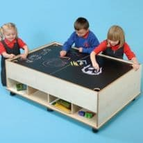 Chalkboard & Dry wipe Table