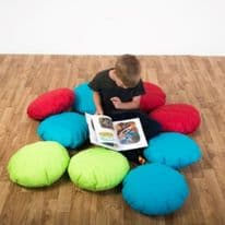 Child Scatter Cushions Set of 10 Padded