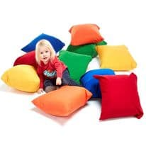 Childrens Floor cushions pack of 10