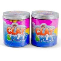 Clay & Play With 2 Play Mould 110g – 3 Colours