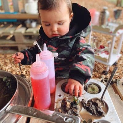 Clear Sauce Bottle,Messy play ideas,messy play resources,messy play cheap,cheap messy play ideas