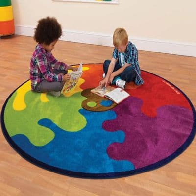 Colour Palette Carpet,School carpets,school rugs,early years and primary school resources, EYP Direct price match,voucher,sensory toy discount