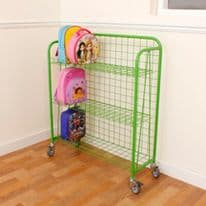 Coloured Lunchbox Trolley