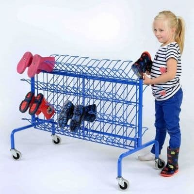 Compact Wellie Trolley,Wellington Boot Holder,School Wellington  Boot Holder,school classroom resources