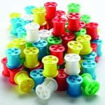 Cotton reels pack of 100