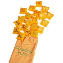 Counting In 5s Bean Bags