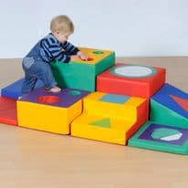 Discovery Trail Toddler Soft Play Set