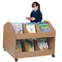 Double Sided Mobile Classroom Organiser