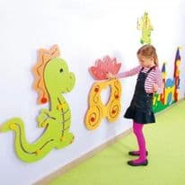 Dragon Sensory Wall Panel