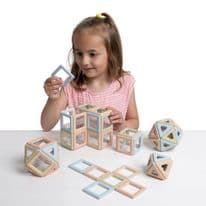 Eco Magnetic Polydron Class Set