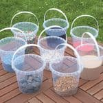 Economy Clear Buckets Set - Pk8