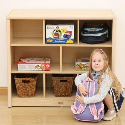 Elegant 8 Shelf Compartment Cabinet Storage,classroom Cabinet Storage,classroom Book Storage Units 3 Large Tray Unit,Furniture,classroom furniture,Furniture Storage,Classroom Storage,Book Storage,Bookcases for schools