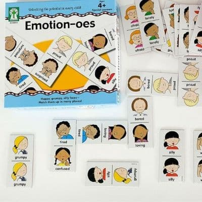 Emotion-oes Board Game,Special needs Emotion resources board game,special needs communication games