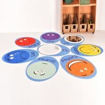 Emotions Mats set with Mirrors