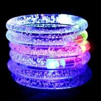 Fibre optic Flashing bracelet