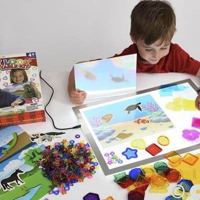 First Look Light Table Kit,Light panel resources,sensory light panel resources, resources, resources for children, reception resources