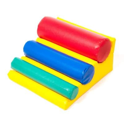 First play Funtime Cylinder Ramp,Childrens softplay,soft play floor mats,classroom carpets,classroom rugs,classroom mats
