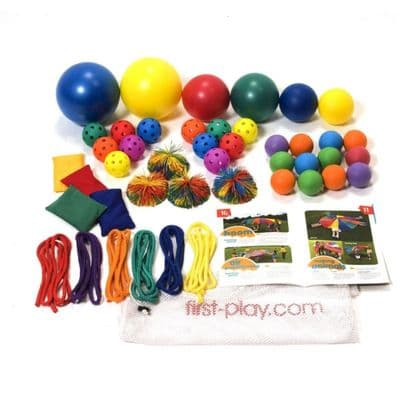 First play Parachute Accessories Kit,parachute play set,childrens parachute games,sensory parachute games