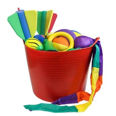First Play Pick Up  and Throw Tub,throwing games,gross motor skills games,fine motor skills games
