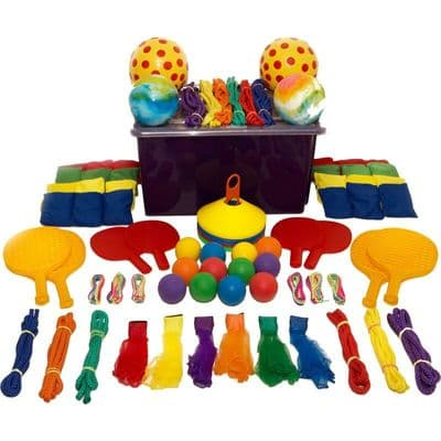 First play Playground Activity Tub,Playground games,playground sports equipment,throwing games,gross motor skills games,fine motor skills games