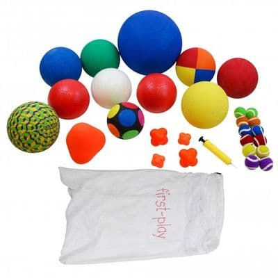 First-Play Playground Ball Pack,School sports equipment,school sports equipment vouchers,school playground play equipment