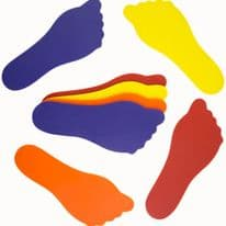 Foot Floor Markers Pack of 10