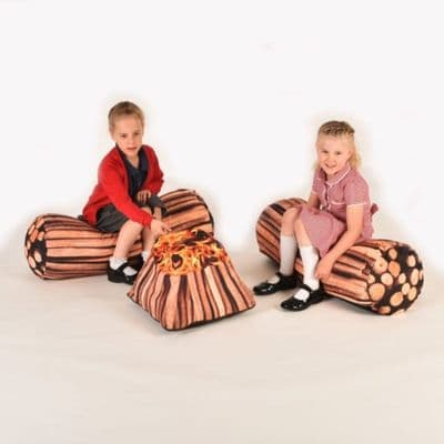 Forest School Campfire Corner,Forest school resources,forest school resources,,bean bag cushions teenagers,Classroom beanbags,classroom reading cushions,classroom bean bag seats,reading corner cushions