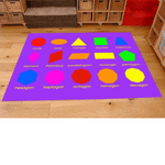 Geometric Shapes Play Mat