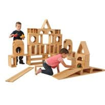 Giant Hollow Blocks 52 piece set