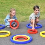 Giant Plastic Activity Rings Set