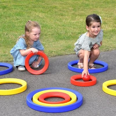 Giant Plastic Activity Rings Set,school numeracy resources,classroom numeracy resources
