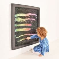 Giant Rainbow Sequin Board